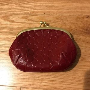 Coach Card Wallet/Coin Purse
